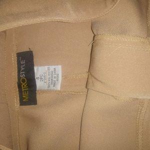 2pc pants suit size 4